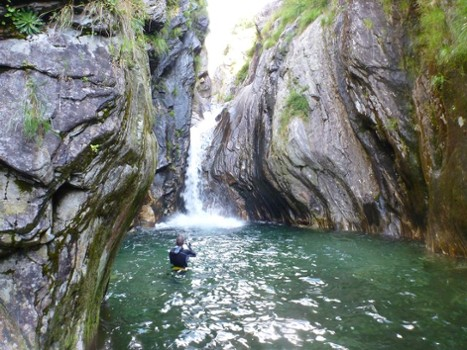 Image relating to Val di Bares Canyoning #9