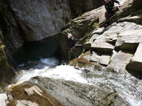 Image relating to Val di Bares Canyoning #3