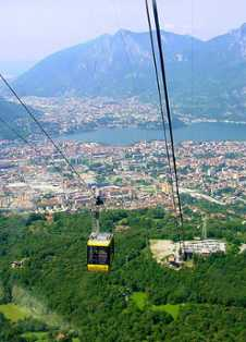 Piani d'Erna Cable Car
