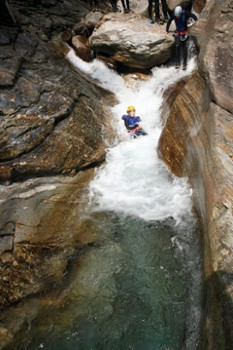 Image relating to Val Bodengo Canyoning #9