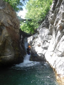 Image relating to Val Bodengo Canyoning #6