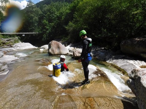 Image relating to Val Bodengo Canyoning #5