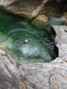 Image relating to Val Bodengo Canyoning #1