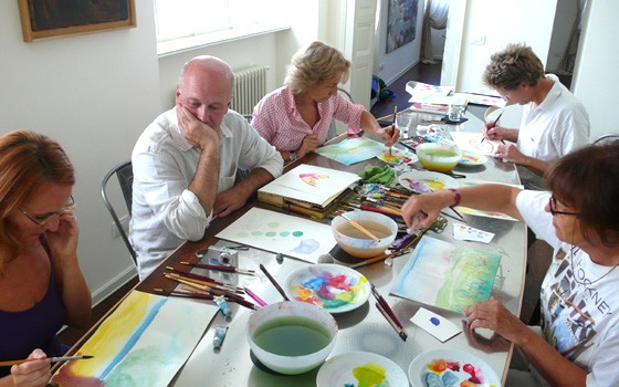 Image relating to Casa Brenna Tosatto Art Classes #5