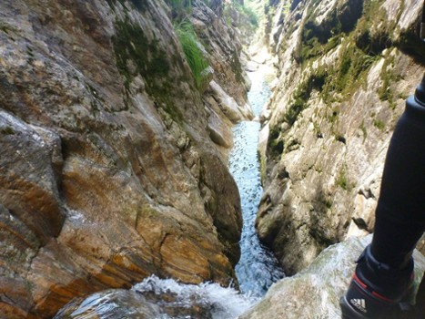 Image relating to Val di Bares Canyoning #13