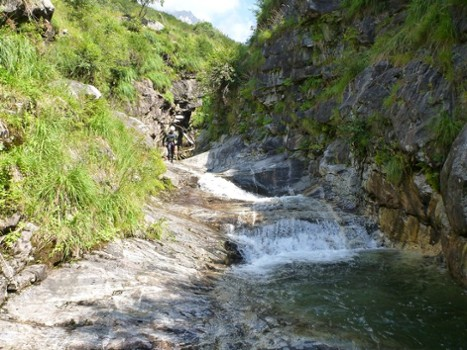 Image relating to Val di Bares Canyoning #11