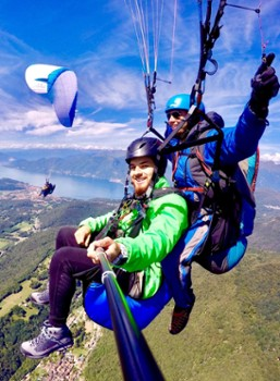 Image relating to FlyTicino Paragliding Tandem Flights #4