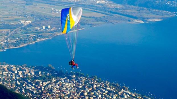 Image relating to FlyTicino Paragliding Tandem Flights #7
