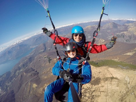 Image relating to FlyTicino Paragliding Tandem Flights #6
