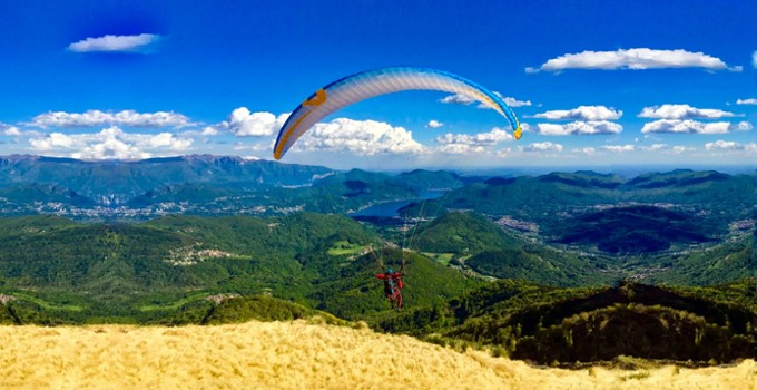 Image relating to FlyTicino Paragliding Tandem Flights #5
