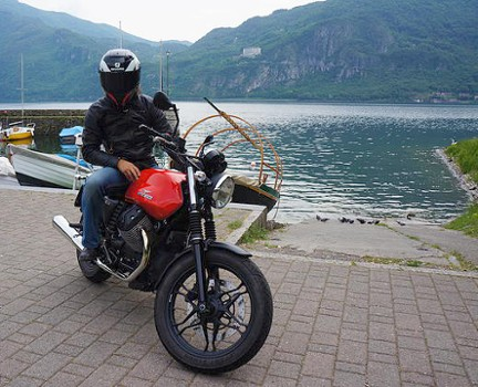 Image relating to Lake Como Motorbike #4