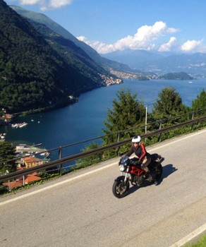 Image relating to Lake Como Motorbike #6
